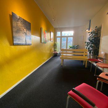 Wachtkamer Fysiotherapie Loosduinsekade in Den Haag