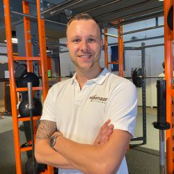 Fysiotherapeut Niels Wijfje