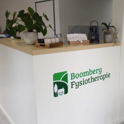 Fysiotherapie Boomberg ontvangst ruimte